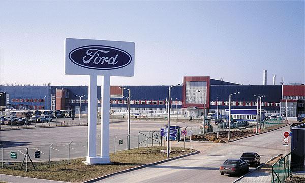 Ford прогнозирует снижение производства в 2007 году