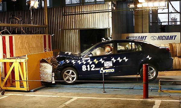 Новый крэш-тест китайского седана D-класса Brilliance M2