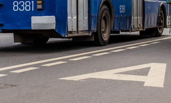 На Волоколамском шоссе убрали выделенную полосу