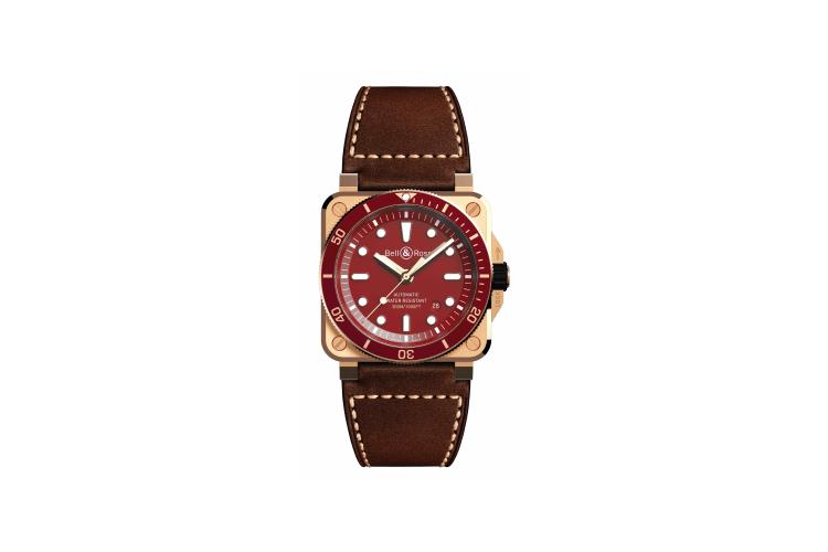 Часы BR03-92 Diver Red Bronze, Bell & Ross