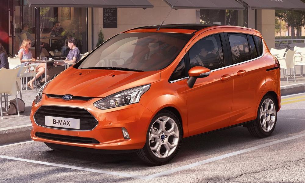 Новый Ford B-Max. Компактный, но вместительный