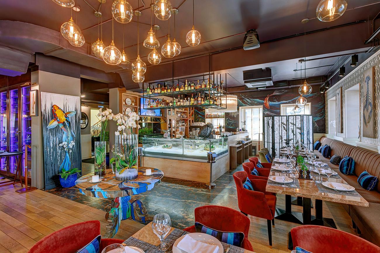 Интерьер ресторана «Пескаторе»