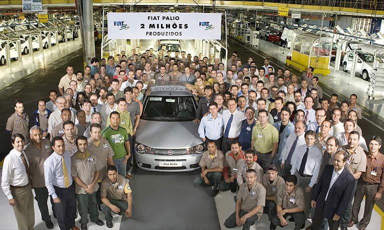 С конвейера сошел 2-миллионный Fiat Palio
