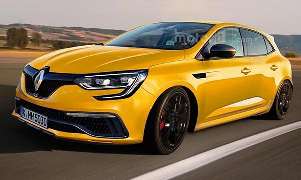 Renault Megane получит двигатель мощностью более 300 лошадиных сил