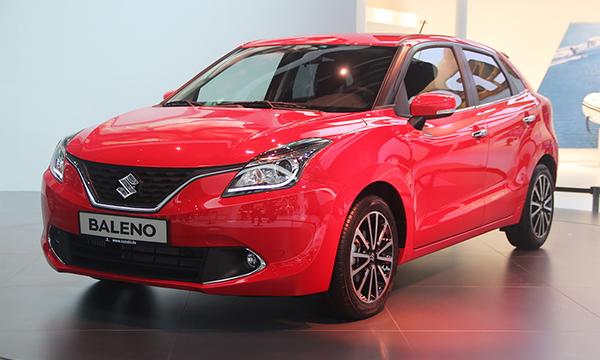 Suzuki представила бюджетный хэтчбек Baleno
