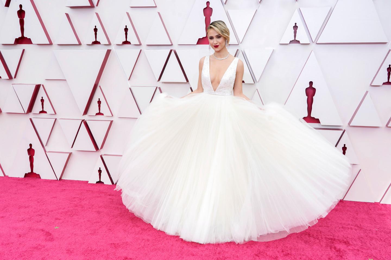 Лучшие Платья Оскара 2021