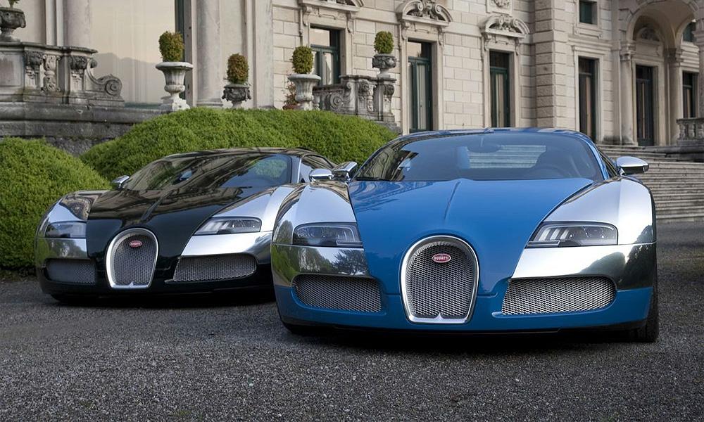 Состоялась мировая премьера Bugatti Veyron Centenaire Edition