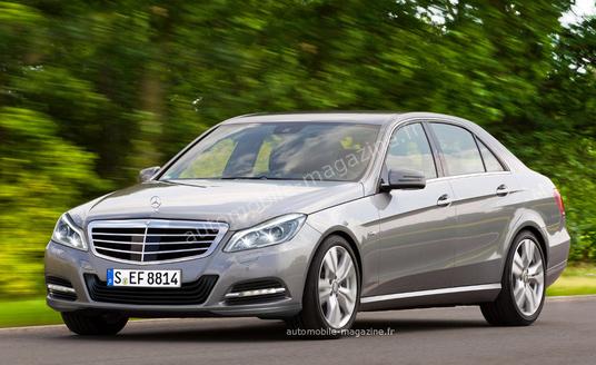 Mercedes освежит внешность E-класса в 2013 году