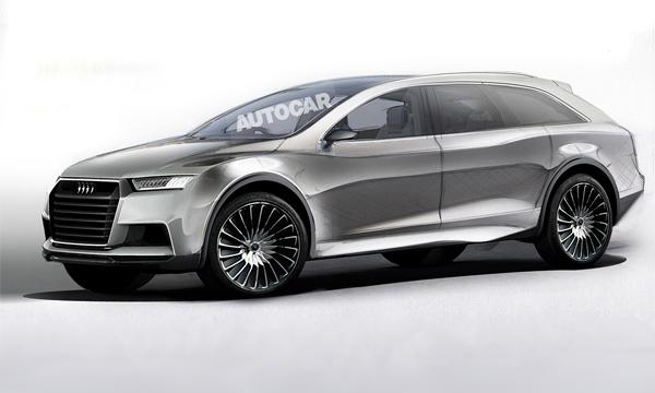 Кросс-купе Audi Q8 получит электрическую и гибридную версии