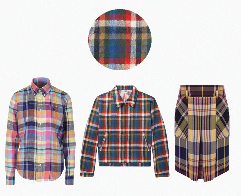 Женская рубашка Polo Ralph Lauren (Кутузовский проспект, 31) ₽8 795 Мужская куртка Thom Browne (Mr. Porter) ₽78 750 Юбка Bottega Veneta (Третьяковский проезд) ₽97 950