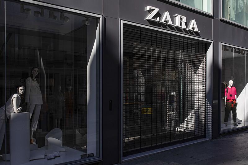 Магазин Zara в Барселоне