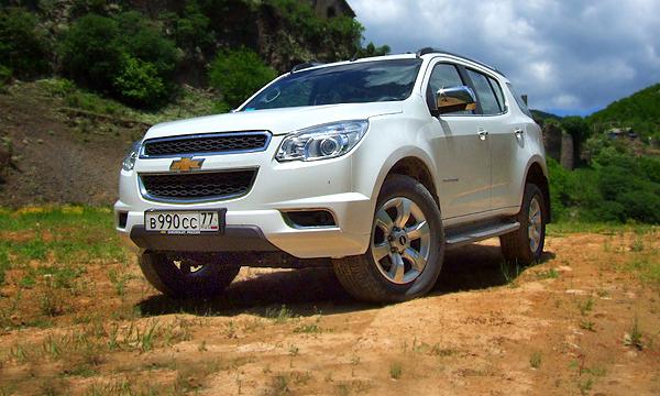 Chevrolet отзывает внедорожники Trailblazer в России