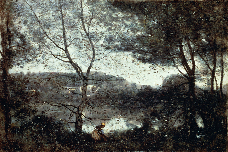 Камиль Коро. «Виль-д'Авре», 1870