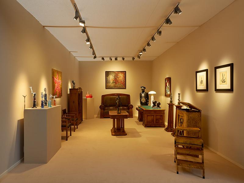 Стенд галереи Heritage