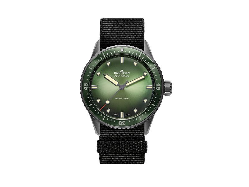 Часы Bathyscaphe Mokarran, Blancpain
