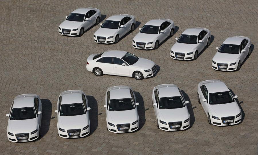 Audi установила рекорд экономичности в автопробеге