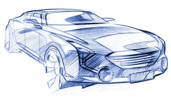 Marussia показала первые скетчи автомобилей проекта «Кортеж»