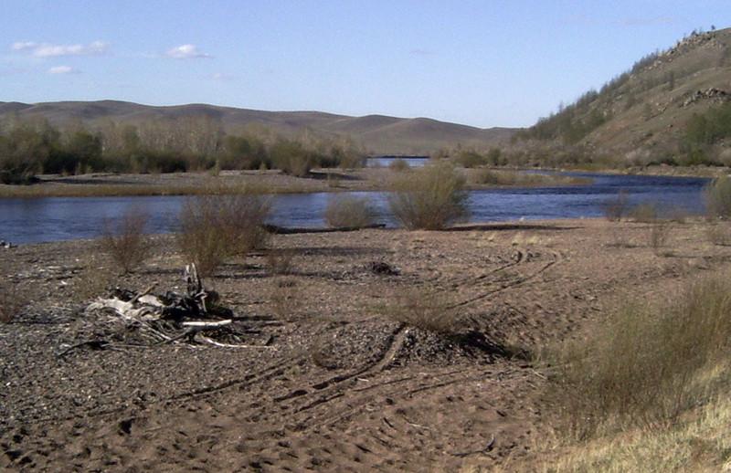 Берег реки Онон