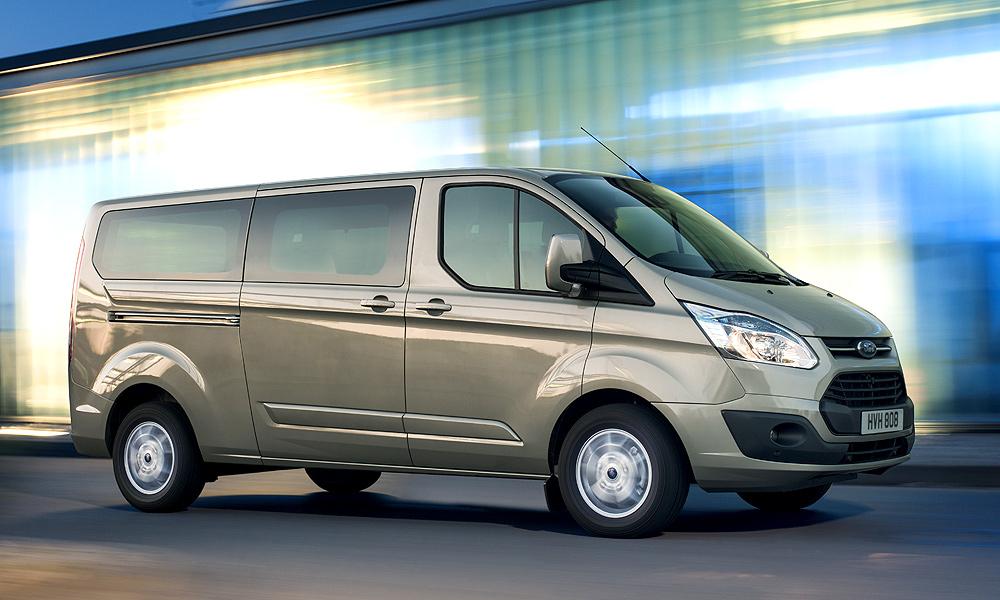 Коммерческая кинетика. Тест-драйв Ford Transit Tourneo Custom