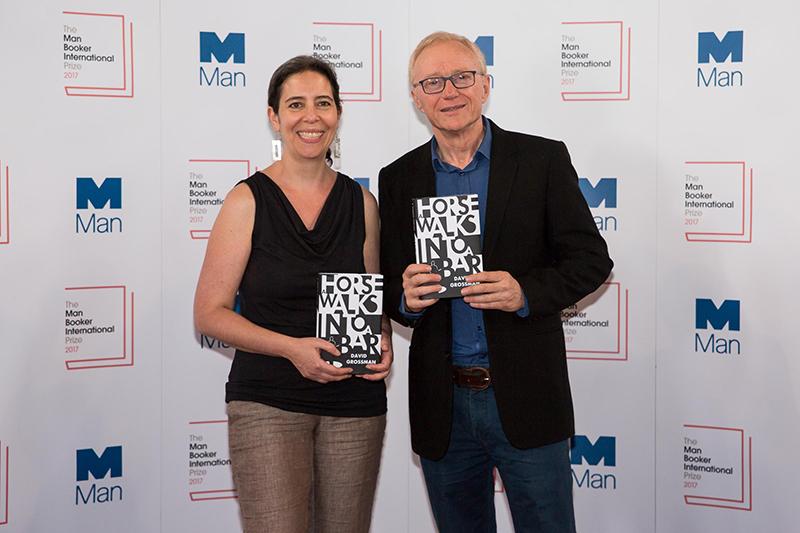 Джессика Коэн (переводчик) иДавид Гроссман, лауреаты Международной Букеровскойпремии — 2017
