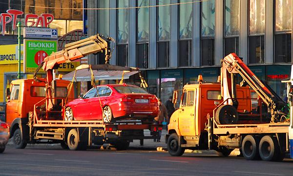 За месяц в Москве эвакуировали около 3 тысяч автомобилей