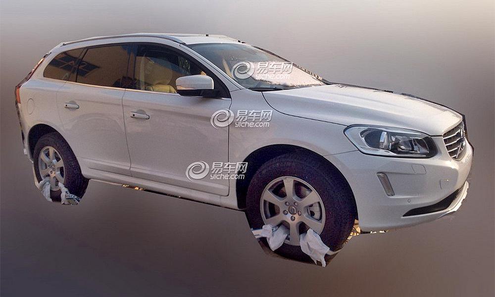 Обновленный Volvo XC60 получит минимум изменений