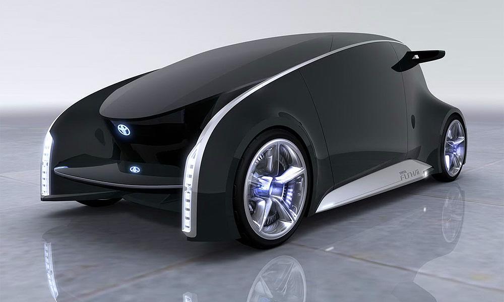 Toyota покажет концепт Fun-Vii – автомобиль-дисплей