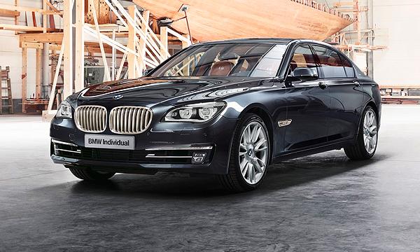 BMW отделала 7-Series столовым серебром