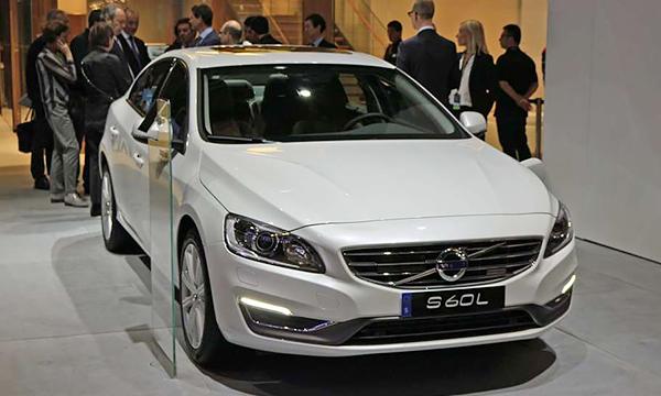Удлиненную Volvo S60 китайской сборки будут поставлять в США