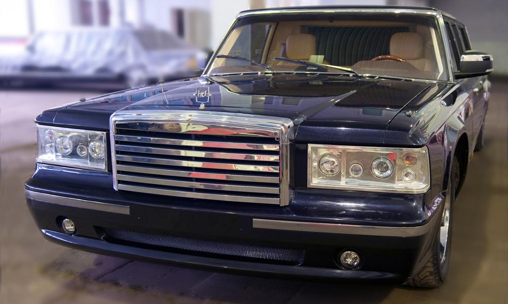 Президент отправил лимузин ЗИЛ на доработку