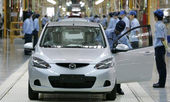 Mazda закончила квартал с чистыми убытками в размере 6,7 млн долларов