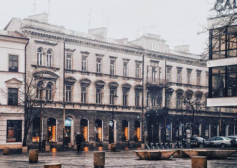 Пешеходная улица Краковское предместье