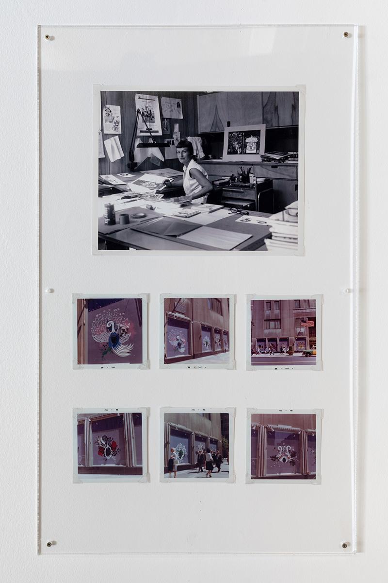 Мэри Блэр. Витрины универмага Bonwit Teller, Нью-Йорк, 1962. Фото: Ли Блэр. Фонд Мэри Блэр