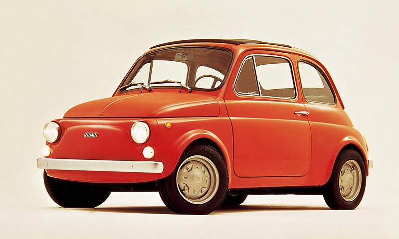 FIAT 500 1957 год