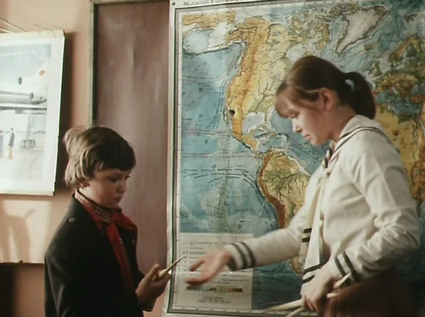 Кадр из фильма «Приключения Петрова и Васечкина, обыкновенные и невероятные»