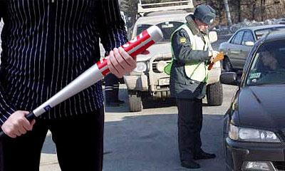 В Москве пьяный водитель избил гаишника