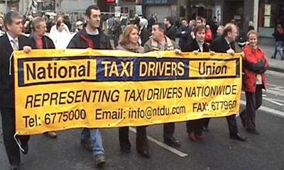 В Ирландии объявили забастовку 15 тыс. водителей такси