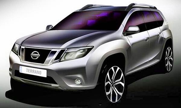 Nissan опубликовал первые тизеры нового Terrano