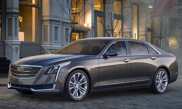 Cadillac представил флагманский седан CT6