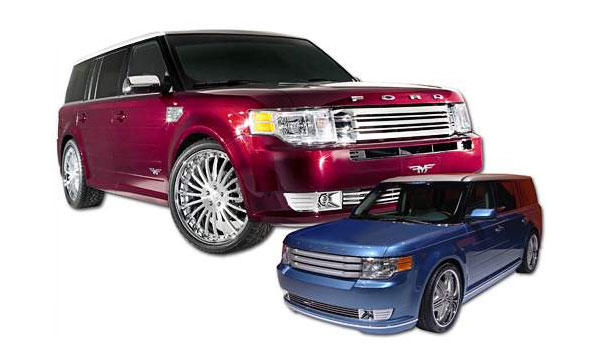 Ford представил на SEMA новые варианты Flex и Mustang