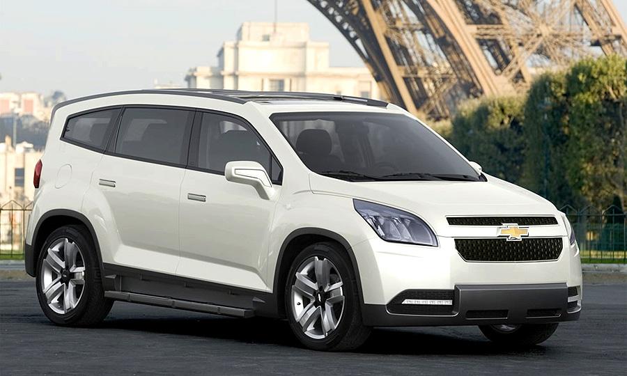 Концепт Chevrolet Orlando