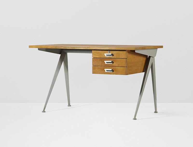 Жан Пруве, стол Сompass, 1950