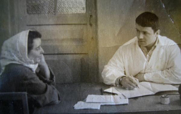 С пациенткойбольницы им.Ющенко,Винница,1967 год