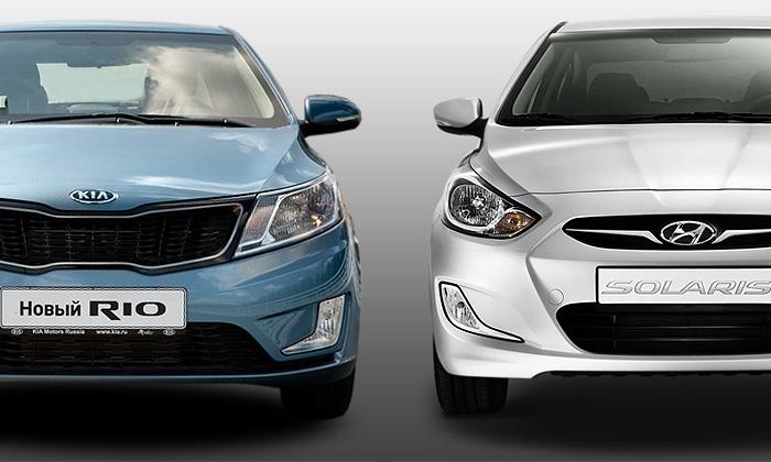 Hyundai Solaris и KIA Rio: во что обойдется облуживание «народных» хэтчбеков?