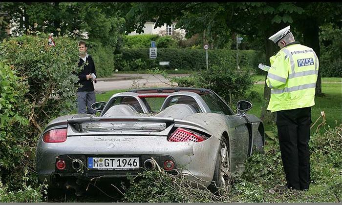 Хэмилтон-старший разбил Porsche стоимостью 700 000 долларов