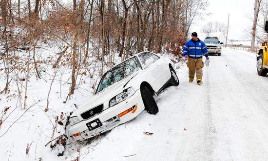 Средний Запад США парализован снегопадами