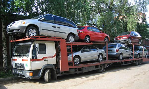 С ввезенных с Украины автомобилей утилизационный сбор взиматься не будет