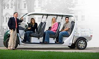 GEM представил электромобиль NEV сразу на двух выставках
