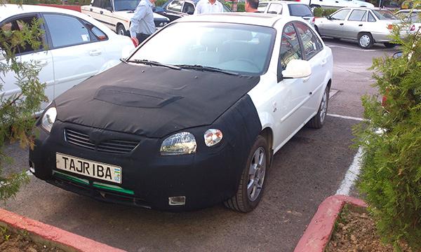 Daewoo создал седан на базе Chevrolet Lacetti