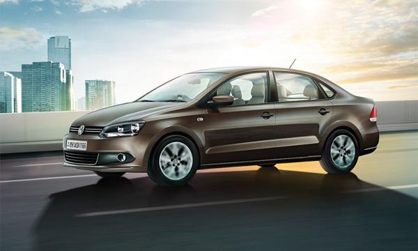 Volkswagen представил обновленный седан Vento